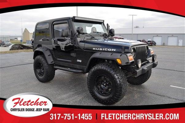 Used 2006 Jeep Wrangler Rubicon For Sale Franklin In Fletcher Chrysler Dodge Jeep Ram 1j4fa69s16p710954